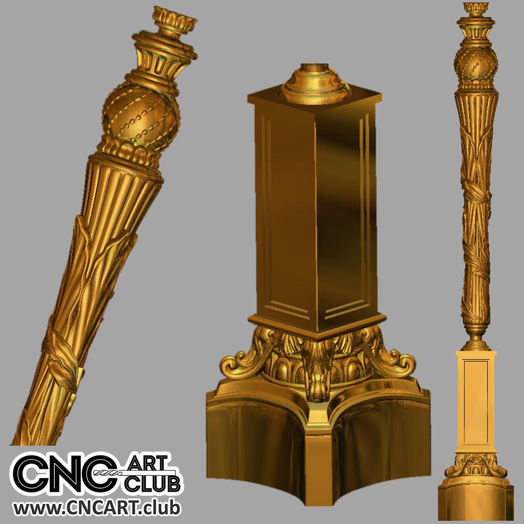 Download File For CNC Woodworking 3D STL Model