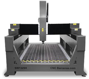 Fresadora CNC con altura de Z especial