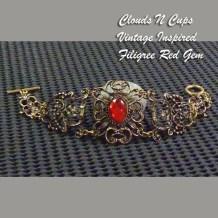 CNC-BL001 - FILIGREE RED GEM