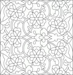 Islamic Pattern DWG File