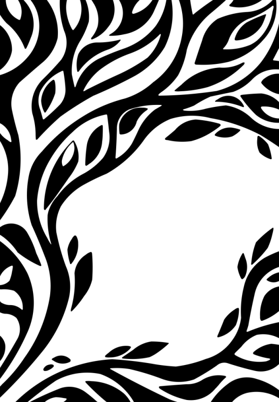 Abstract Floral Pattern Free Vector