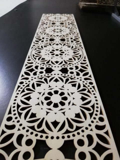 Laser Cut Decor Pattern for CNC DXF File
