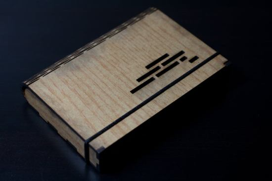 Laser Cut Flex Box Wooden Box With Living Hinge DXF File