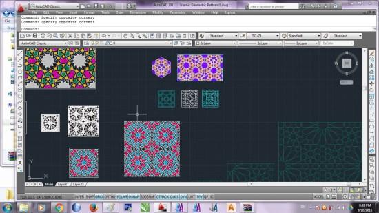 Islamic Geometric Patterns1. dwg