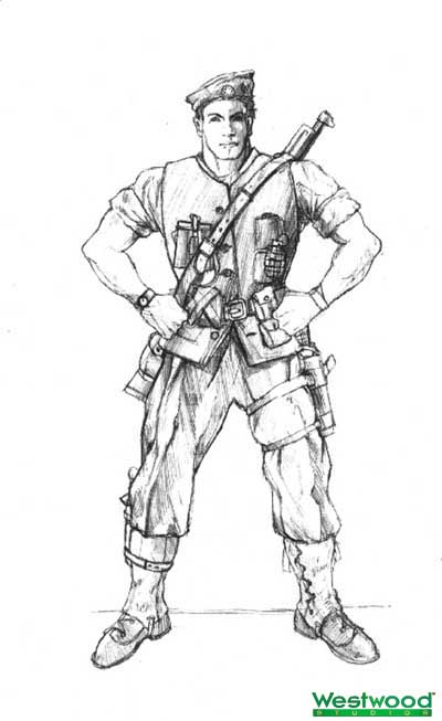 British sniper/Commando by: TJ Frame