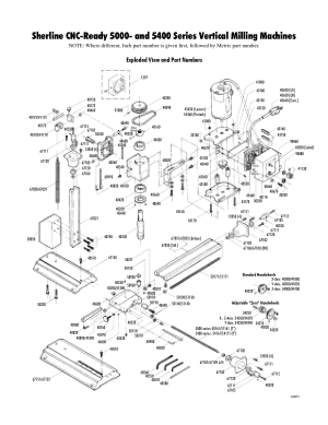 Sherline Milling Machine Operating Instructions v4e Linux