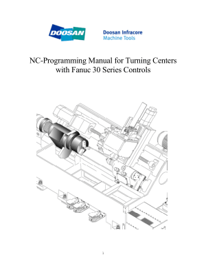 Doosan NC Programming Manual for Turning Centers Fanuc 30