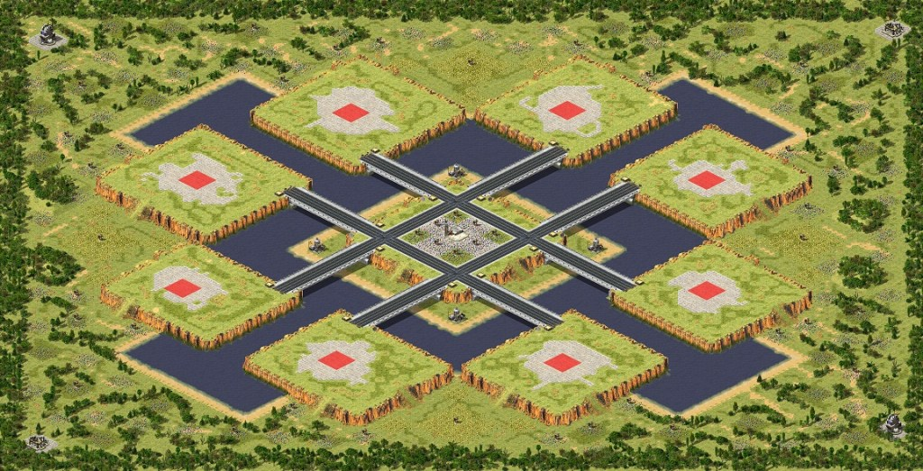 red alert 2 map King of The Hill