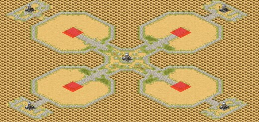 red alert 2 map Oil in Corners and Center
