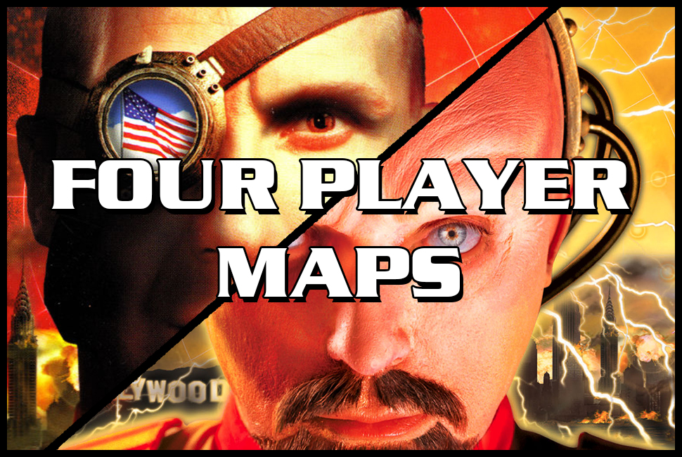 red alert 2 four player maps