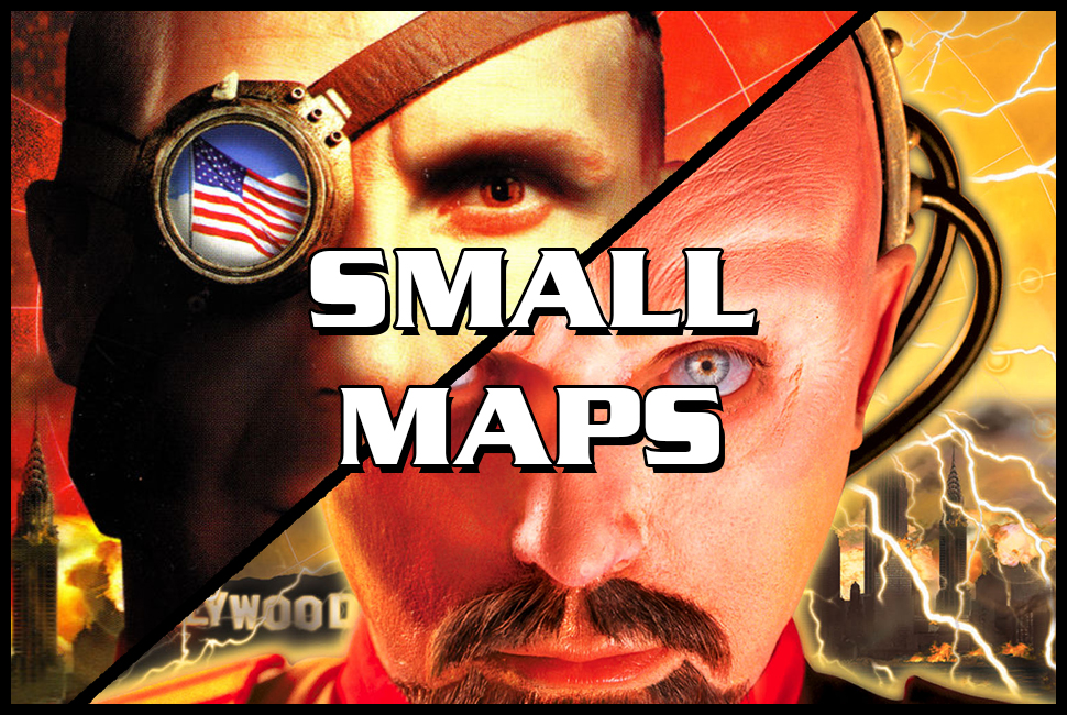 red alert 2 small maps
