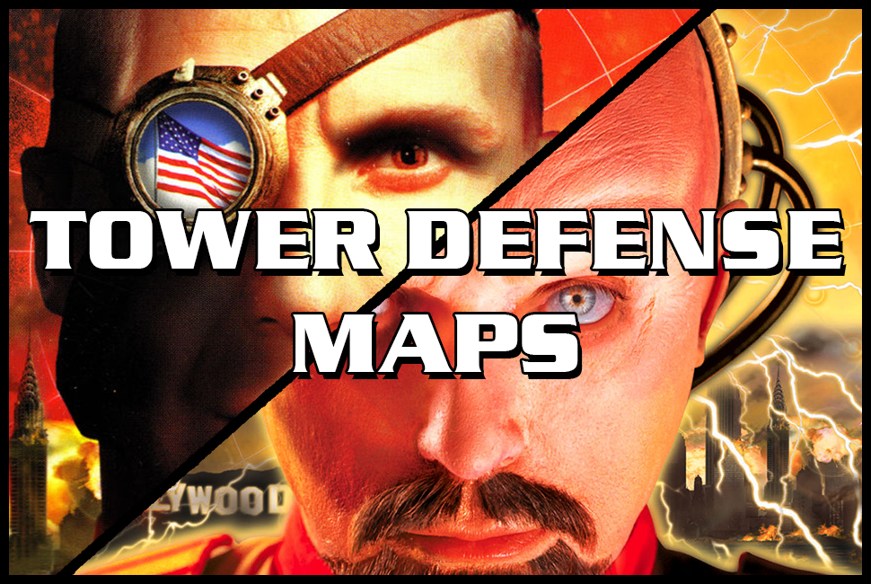 red alert 2 tower defense maps