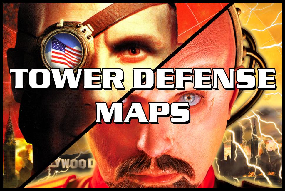 red alert 2 tower defense maps