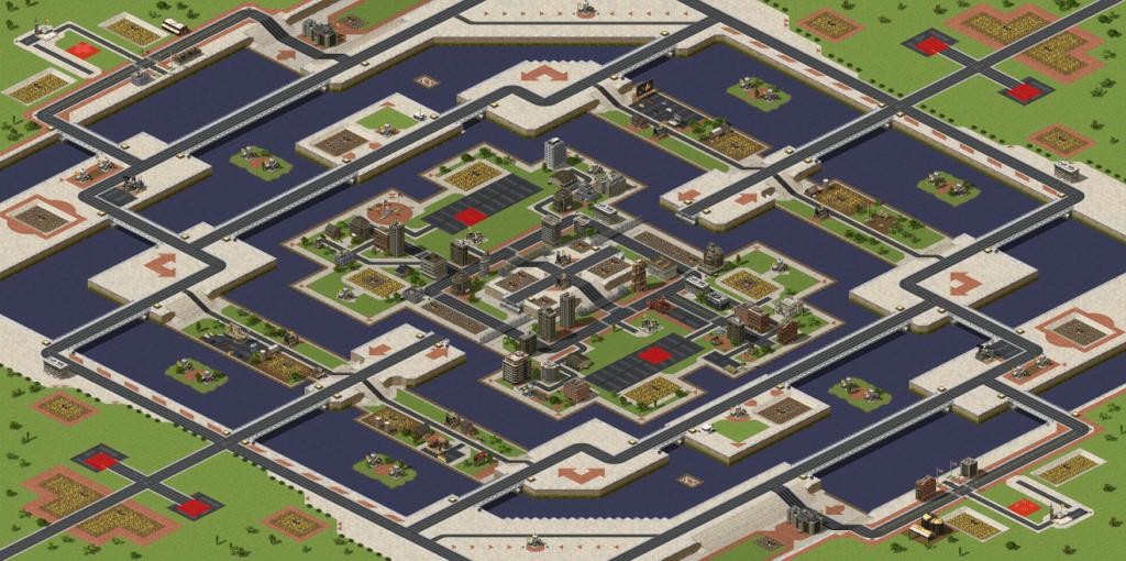 Red Alert 2 maps Endless Isles v2
