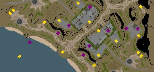 Red Alert 3 map Clefted city