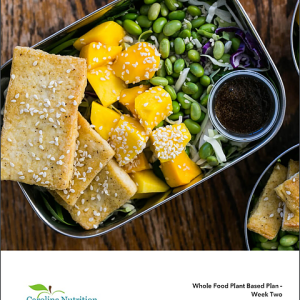 2 Week Whole Food Plant-Based Meal Plan + Recipes