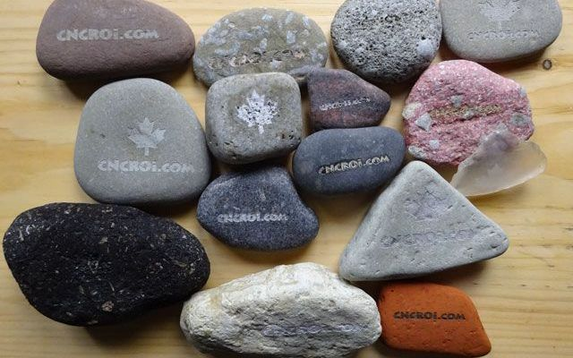 laserstones-x1 Laser Engraving Beach Pebble Stones: Indepth Material Review