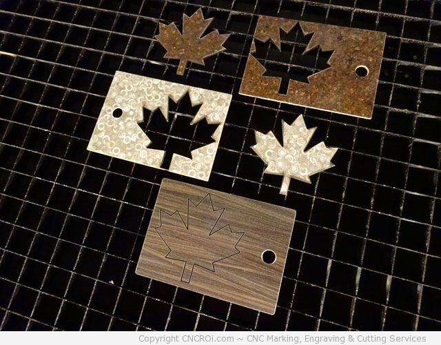 Laser Cutting Formica: Tale of Three Little Formicas
