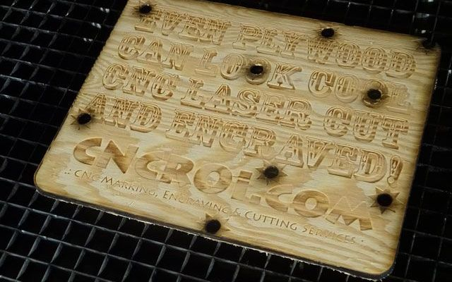 laser-cut-plywood-sign-x Plywood Cowboy Promo Sign