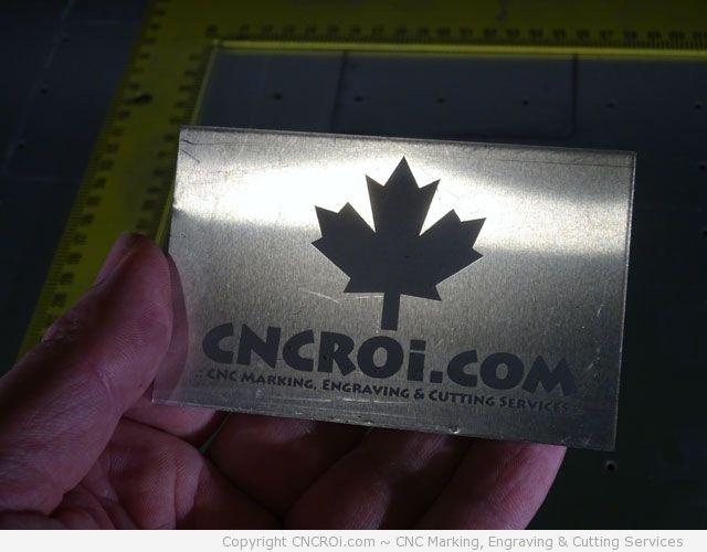 CNC Laser Marking Metal: RAW & Coated Aluminum Plate