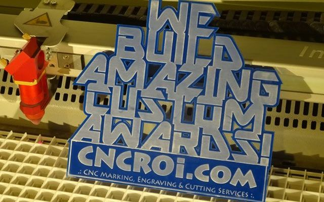 cnc-laser-acrylic-award-4 CNC Laser Engraving & Cutting 6 mm Custom Acrylic Award