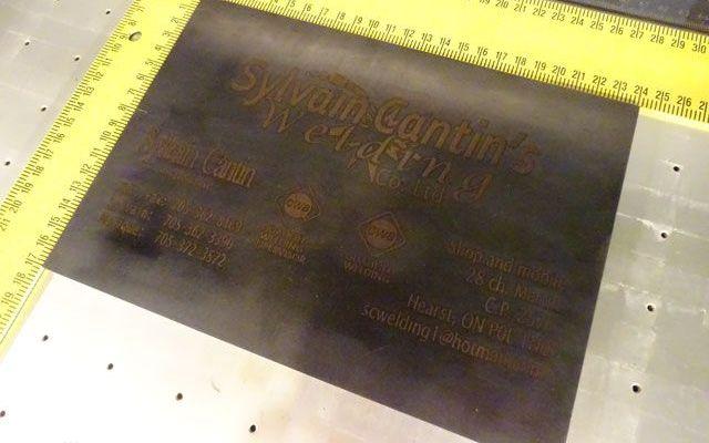 laser-engraving-metal-3 CNC Fiber Engraving Plate Metal