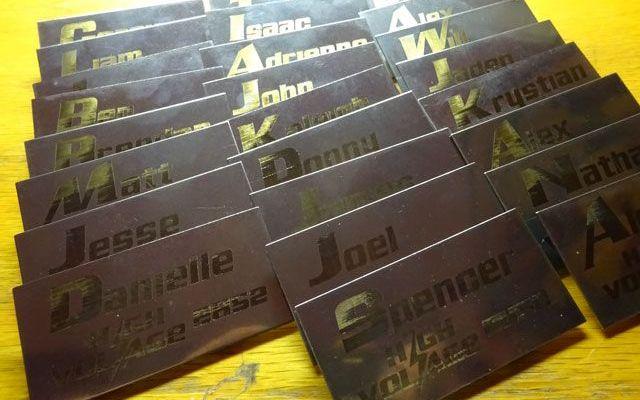 namebadge-8 Custom Stainless Steel Name Badges Case Study