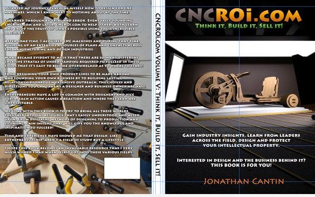 1book CNCROi.com V5: Think it, Build it, Sell it!