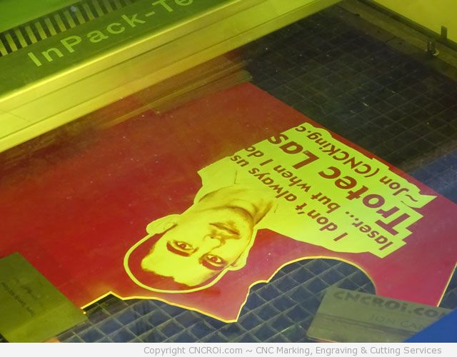 1-cnc-laser-laminate-8 CNC Laser Engraving a Portrait on RED/White Laminate