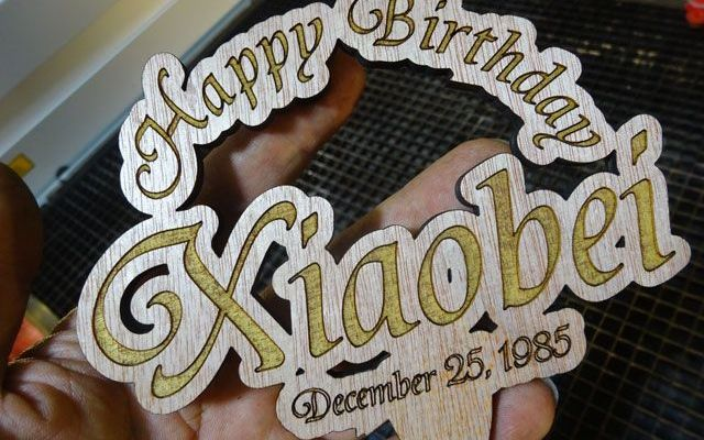 custom-birthday-cake-top-1 CNC Laser Engraving and Cutting Custom Birthday Cake Toppers