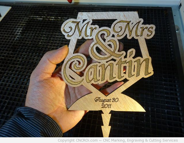 custom-wedding-cake-topper1 CNC Laser Engraving & Cutting Custom Wedding Cake Toppers
