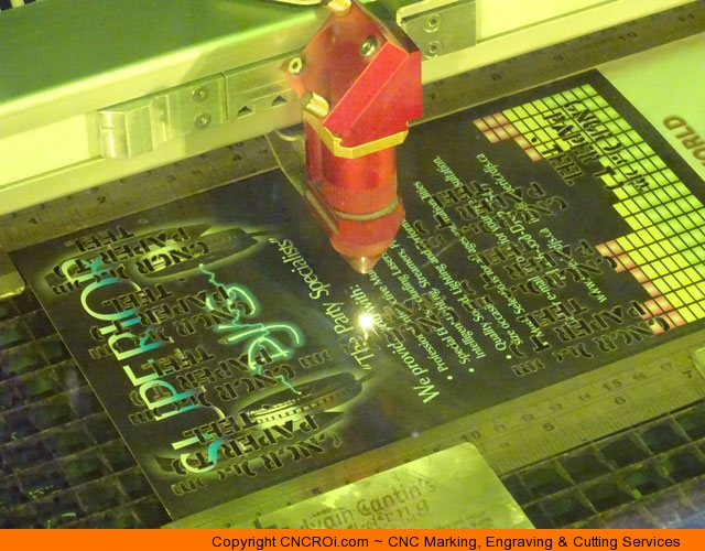 CNC Laser Cutting Custom Paper Stencils -