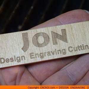custom-namebadge-x2 Wooden Name Badges (2 Pack)