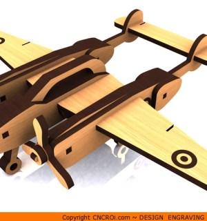 1-p38 P-38 Lightning Aircraft Kit