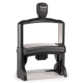"""4512 Trodat Professional 54120 Custom Self-Inking Stamp (70 x 116 mm or 2.8 x 4.6"""" with date)"""