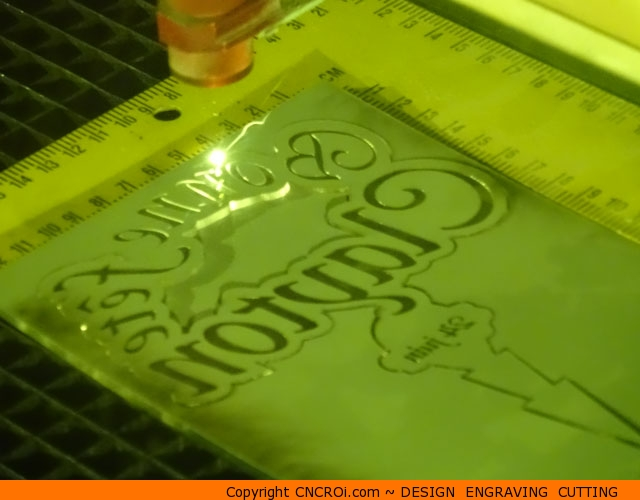 cnc-mirror-cake-topper-1 CNC Laser Engraving & Cutting a Mirrored Acrylic Cake Topper