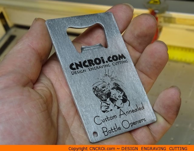 custom-bottle-opener-1 Annealing a Stainless Steel Bottle Opener
