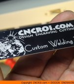 "custom-welding-tag-6 50 x Anodized Aluminium Tags (25 x 76 mm or 1 x 3"")"