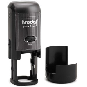 "trodat-46019 Trodat Original Printy 46019 Custom Self-Inking Stamp (19 mm or 3/4"" round)"
