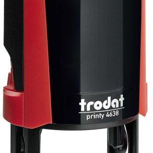 "trodat-4638e Trodat Original Printy 4638 Custom Self-Inking Stamp (38 mm or 1-1/2"" round)"