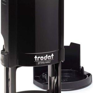 "trodat-4642b Trodat Original Printy 4642 Custom Self-Inking Stamp (42 mm or 1.7"" round)"