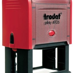 "trodat-printy-4926b Trodat Original Printy 4926 Custom Self-Inking Stamp (38 x 75 mm or 1-1/2 x 3"")"