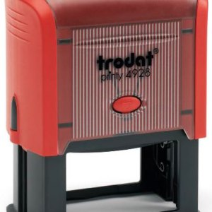 "trodat-printy-4928e Trodat Original Printy 4928 Custom Self-Inking Stamp (33 x 60 mm or 1-5/6 x 2-3/8"")"