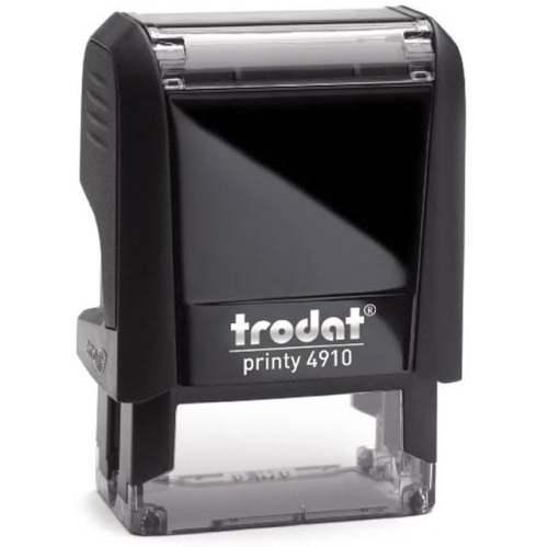 "trodat-printy-original-4910 Trodat Original Printy 4910 Custom Self-Inking Stamp (9 x 26 mm or 3/8 x 1-1/32"")"