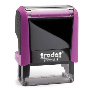 "trodat-printy-original-4911b-1 Trodat Original Printy 4911 Custom Self-Inking Stamp (14 x 38 mm or 9/16 x 1-1/2"")"