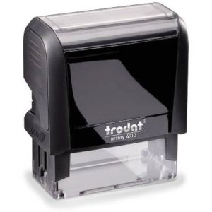 "trodat-printy-original-4913-1 Trodat Original Printy 4913 Custom Self-Inking Stamp (22 x 58 mm or 7/8 x 2-3/8"")"
