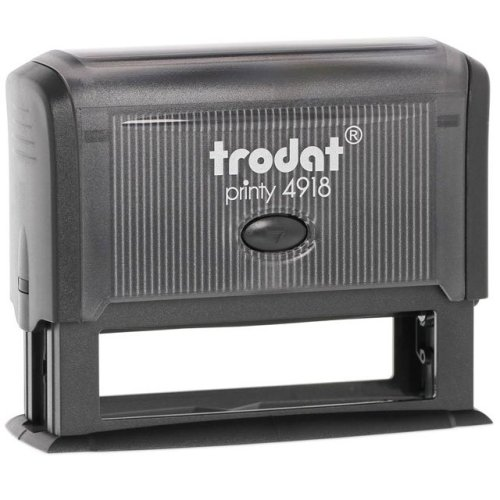 "trodat-printy-original-4918-1 Trodat Original Printy 4918 Custom Self-Inking Stamp (15 x 75 mm or 5/8 x 3"")"