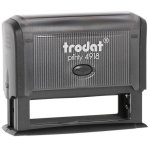 "trodat-printy-original-4918-1 Trodat Original Printy 4918 Custom Self-Inking Stamp (15 x 75 mm or 5/8 x 3"")"
