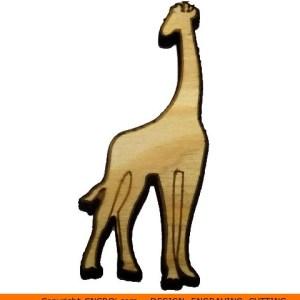 0010-giraffe Giraffe Shape (0010)