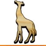0011-giraffe2 Giraffe Shape (0011)